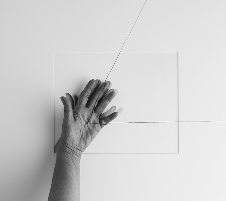 Liliana-Porter-Forty-Years-IV-hand-over-triangle-one-hand-left-1973-2013